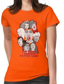 rocky horror picture show 40th anniversary tribute Womens Fitted T-Shirt