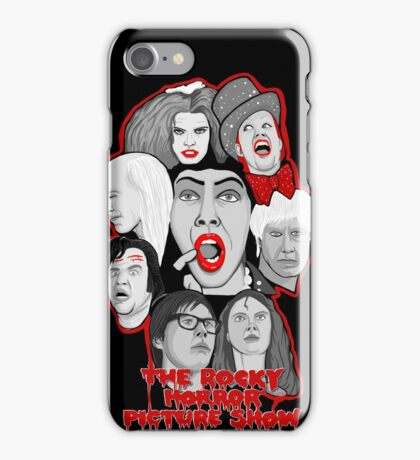 rocky horror picture show 40th anniversary tribute iPhone Case/Skin