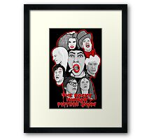 rocky horror picture show 40th anniversary tribute Framed Print