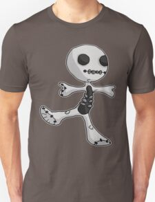 skelly, the skeleton ragdoll Unisex T-Shirt