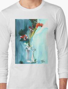 Flowers in Vase Long Sleeve T-Shirt