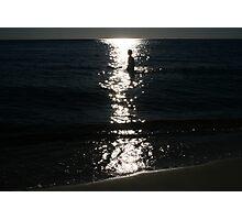Wading Through Starlight Photographic Print