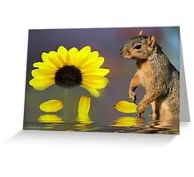 She Loves Me! Greeting Card