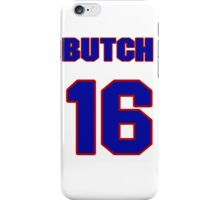 National baseball player Butch Nieman jersey 16 iPhone Case/Skin