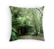 Fern Glade Reserve Throw Pillow