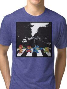 nintendo beatles Tri-blend T-Shirt