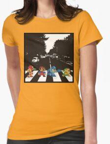 nintendo beatles Womens Fitted T-Shirt