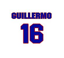 National baseball player Guillermo Quiroz jersey 16 Photographic Print