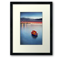 Smooth Sailin' Framed Print