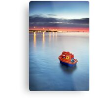 Smooth Sailin' Metal Print