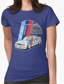 BMW - M3 E30 DTM Womens Fitted T-Shirt