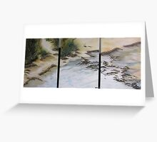 Lifes A Beach for Red Capped Plovers at Wallaroo SOLD Greeting Card