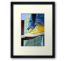 Just waiting for you Framed Print