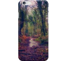 Wet and Wild Woods iPhone Case/Skin