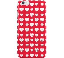 Valentines Heart Pattern iPhone Case/Skin