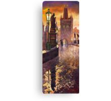 Prague Charles Bridge Canvas Print