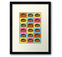 Yummi Love Mix Framed Print