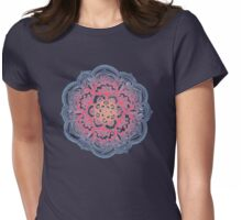 Radiant Medallion Doodle Womens Fitted T-Shirt
