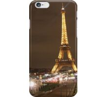 Fountains by the Eiffel Tower iPhone Case/Skin