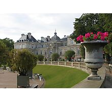 Jardin du Luxembourg Photographic Print