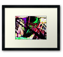 Abstract Phone3 Framed Print