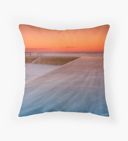 Newcastle Baths Throw Pillow