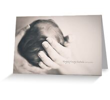 a mother's touch 2 Greeting Card