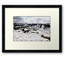 Farndale in Winter Framed Print