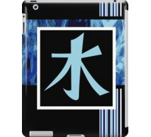 Water Kanji iPad Case/Skin