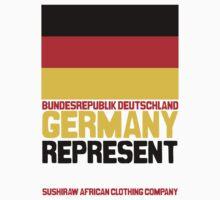 Germany represent by kaysha