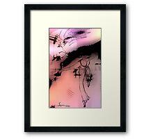 cool sketch 67 Framed Print