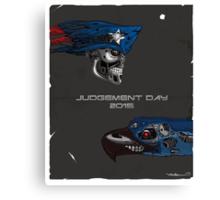 Judgement Day 2015 Canvas Print