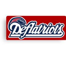 DEFLATRIOTS - DEFLATEGATE - New England Patriots  Canvas Print