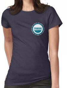 Pawnee-Eagleton unity concert 2014 (Ron's hoodie) Womens Fitted T-Shirt