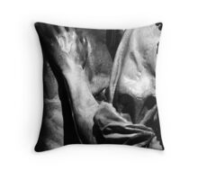 Supportive Hand  Throw Pillow