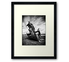 Decayed, neglected and left to rot Framed Print
