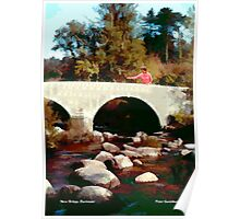 New Bridge, Dartmoor Poster