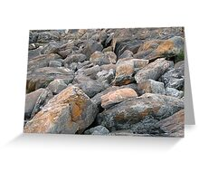 Nature rocks! Greeting Card