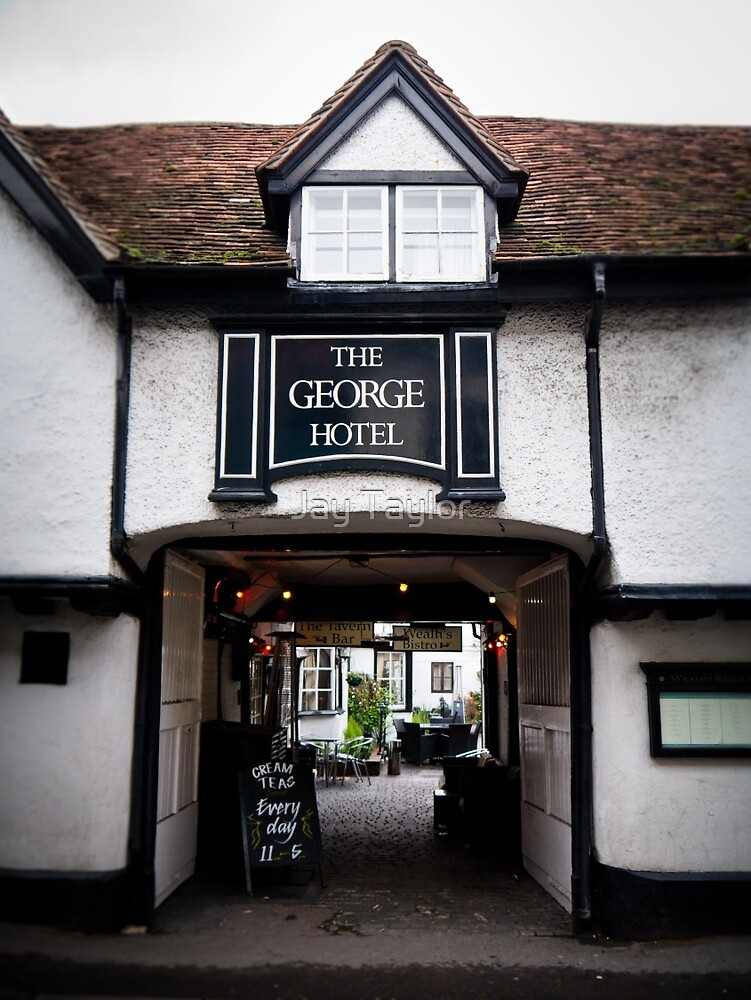The George Hotel, Wallingford, Oxfordshire by Jay Taylor