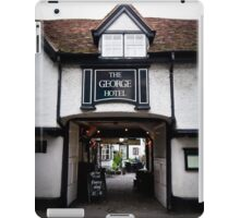 The George Hotel, Wallingford, Oxfordshire iPad Case/Skin