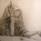 Fortuneteller by Kseniya Nelasova