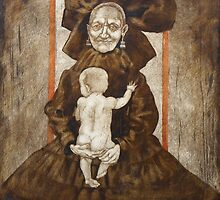 The old woman with the baby by musiclove