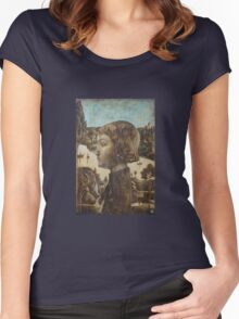 Diptych Romeo and Juliet. Romeo. Women's Fitted Scoop T-Shirt