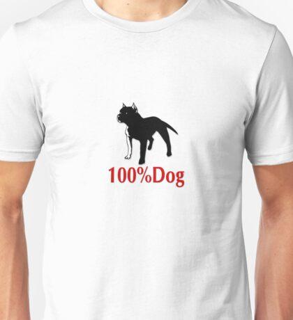 100% Dog Unisex T-Shirt