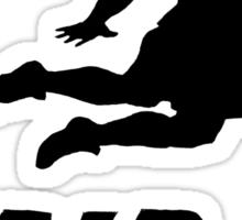 Darius get dunked Sticker