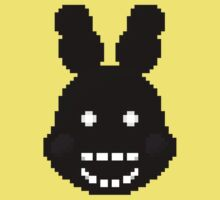 Five Nights at Freddy's 2 - Pixel art - Shadow Bonnie Kids Clothes