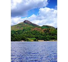 Conic Hill from the Loch Photographic Print