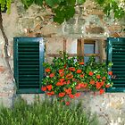 Tuscan Window by Gary Lengyel