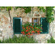 Tuscan Window Photographic Print