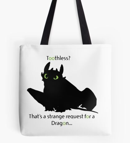 toothless> Tote Bag